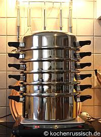 Dampfgaren statt Kochen