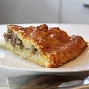 Kurnik - russischer Fleischkuchen