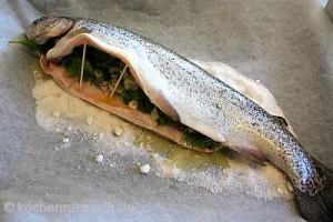 Fisch in Salzkruste