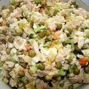 Russischer Salat Olivier Märchen